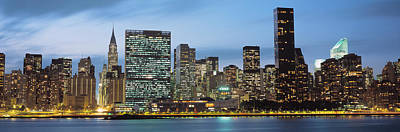 Manhattan, Nyc, New York City, New York Poster by Panoramic Images