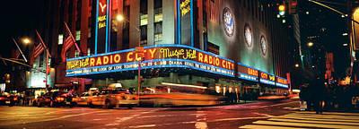 Manhattan, Radio City Music Hall, Nyc Poster by Panoramic Images