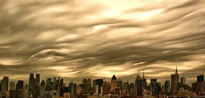 Manhattan Sky Poster