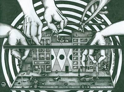 Manipulation  Poster by Richie Montgomery