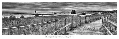 Manistique Lakefront Poster by Twenty Two North Photography
