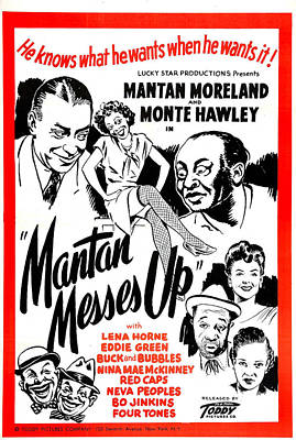 Mantan Messes Up, Us Poster, Top Poster by Everett