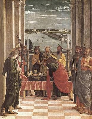 Mantegna, Andrea 1431-1506. Death Poster by Everett