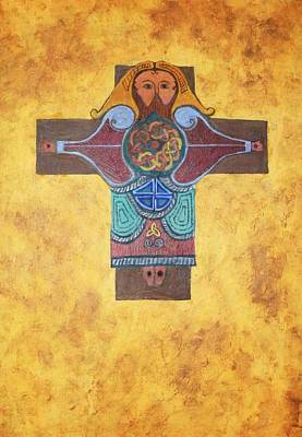 Celtic Crucifixion Poster