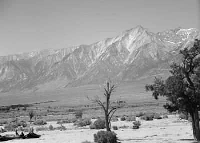 Manzanar-sierra Nevada Mountains II Poster by Harold E McCray