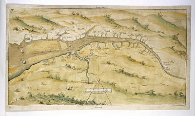 Map Of River Severn Poster by British Library