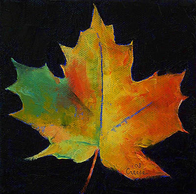 Maple Leaf Poster by Michael Creese