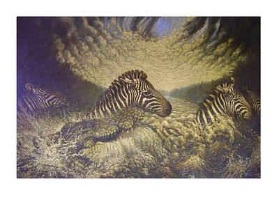Mara Crosasing Poster by Steven Wood