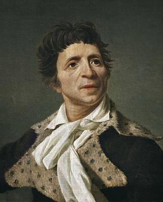 Marat, Jean-paul 1743-1793. Oil Poster by Everett