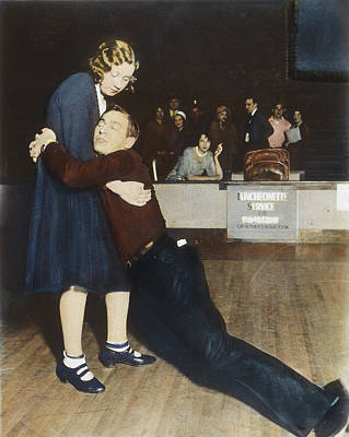 Marathon Dancers, 1930s Poster by Granger