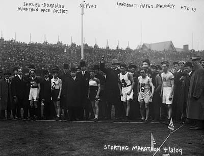 Marathon Race, 1909 Poster