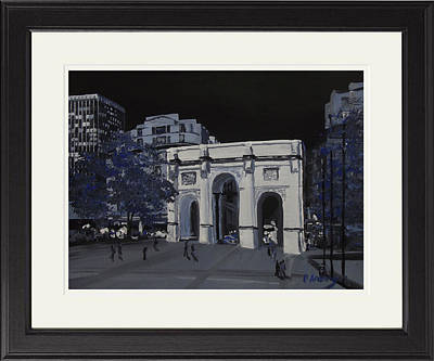 Marble Arch  London Poster by Darren Andrews