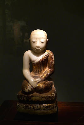 Buddhist Figure   Poster