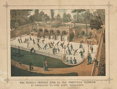 Marble Skating Rink Poster by British Library
