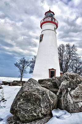 Marblehead Lighthouse Poster by Renee Sullivan