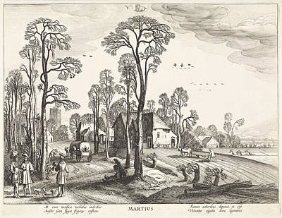 March, Jan Van De Velde II Poster by Jan Van De Velde (ii) And Claes Jansz. Visscher (ii)