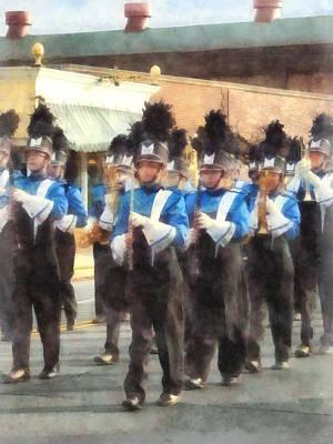 Marching Band Poster by Susan Savad