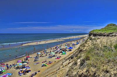 Marconi Beach National Seashore Cape Cod 2 Poster by Allen Beatty
