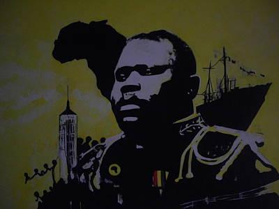 Marcus Garvey #2. Poster by Robert Cunningham