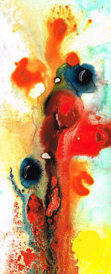 Mardi Gras - Colorful Abstract Art By Sharon Cummings Poster by Sharon Cummings