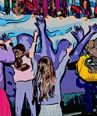 Mardi Gras Poster by Steve Harrington