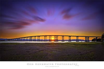 Mare Island Bridge Poster