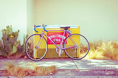 Marfa Cola Bike Poster by Sonja Quintero