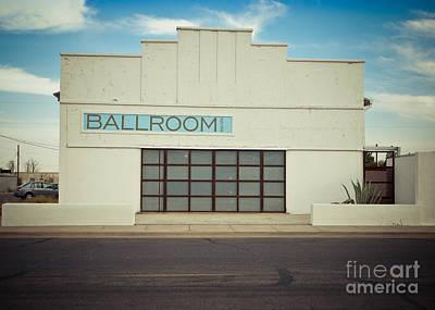 Marfa Texas Ballroom Poster by Sonja Quintero