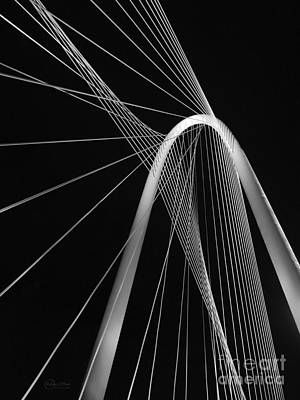 Margaret Hunt Hill Bridge Dallas Texas Poster