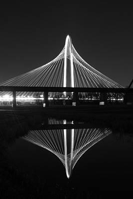 Margaret Hunt Hill Bridge Reflection Poster by Jonathan Davison