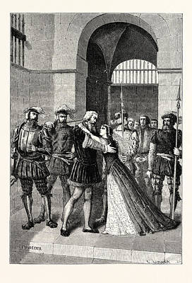 Margaret Roper Meets Her Father After His Condemnation Poster