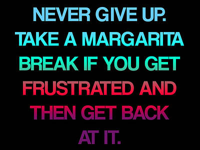 Margarita Break Poster by Jera Sky