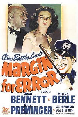 Margin For Error, Us Poster, Top Poster