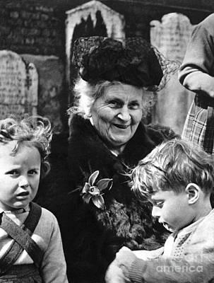 Maria Montessori Poster by Granger