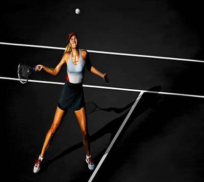 Maria Sharapova Poster by Brian Reaves