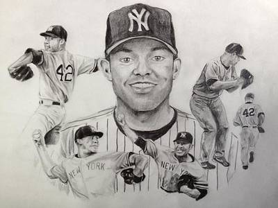 Mariano Rivera Poster by Chelsea Simunek