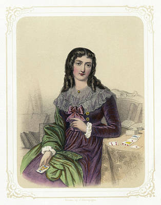 Marie Anne Lenormand (1772-1843) Poster
