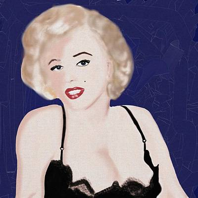 Marilyn 2 Poster by Helen Bowman
