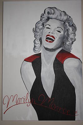 Marilyn Poster by Donna Bird