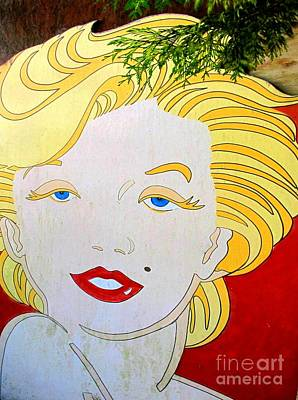 Marilyn Poster by Ethna Gillespie