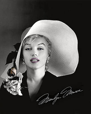 Marilyn Poster by Gary Baird
