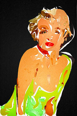 Marilyn In Wild Poster