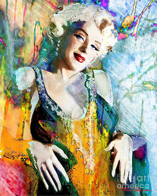 Marilyn Monroe 126 E Poster by Theo Danella