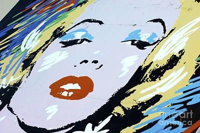 Marilyn Monroe 4 Poster by Micah May