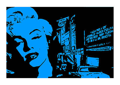Marilyn Monroe Poster by Neil Kinsey Fagan