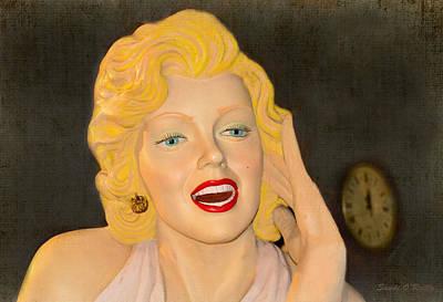 Marilyn Monroe Poster by Sandi OReilly