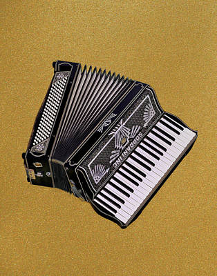 Marilyn's Accordion Poster
