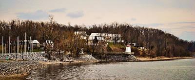 Lighthouse Landing Marina Inlet - Kentucky Lake Poster by Greg Jackson
