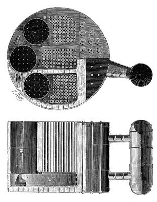 Marine Boiler Poster by Science Photo Library