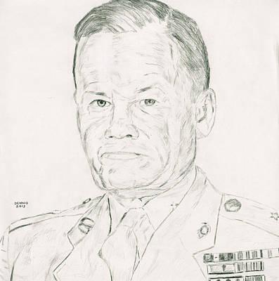 Marine Corps Legend Poster by Dennis Larson